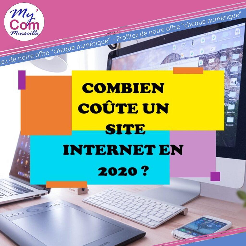 Combien coute un site internet en 2020