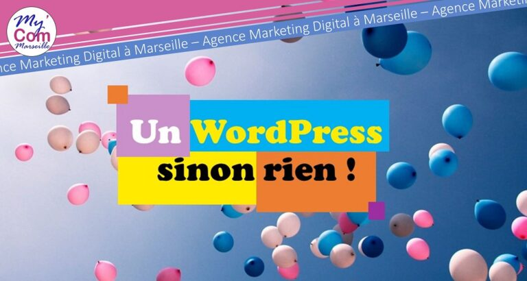 UN WORDPRESS SINON RIEN !