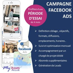 Agence web Marketing, Campagne Facebook Ads avec periode d'essai à Marseille