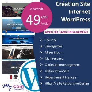 Création de site wordpress a marseille qui vous appartient